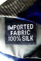 Geoffrey Beene Necktie Tie Silk Lot of 2 Black Blue Brown Geometric Swirls image 4