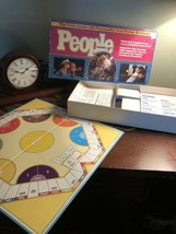 1984 PEOPLE WEEKLY Trivia Board Game Parker Brothers Complete - $18.99