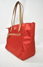 NWT Michael Kors Nylon Kelsey Large Top Zip Tote in Bright Red - $119.00