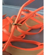 J-Crew Pilar Flat Sandals~ Orange Size 10 (SEE DETAILS BELOW) - $24.95