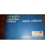 Toyota Forklift 5fgc10,13,15  Parts Catalog Manual - $74.25