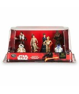 Disney Store Star Wars The Force Awakens Resistance Figurine Set-7 Piece... - $16.81
