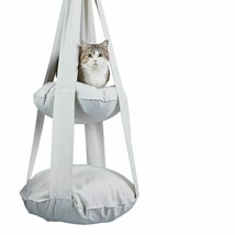 Cat Bed Cloud Hanging Hammock Pet Furniture Kitten Comforter Lounge Pillow - $137.99