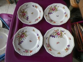 Rosenthal Flowers salad plate 12 available - $5.49