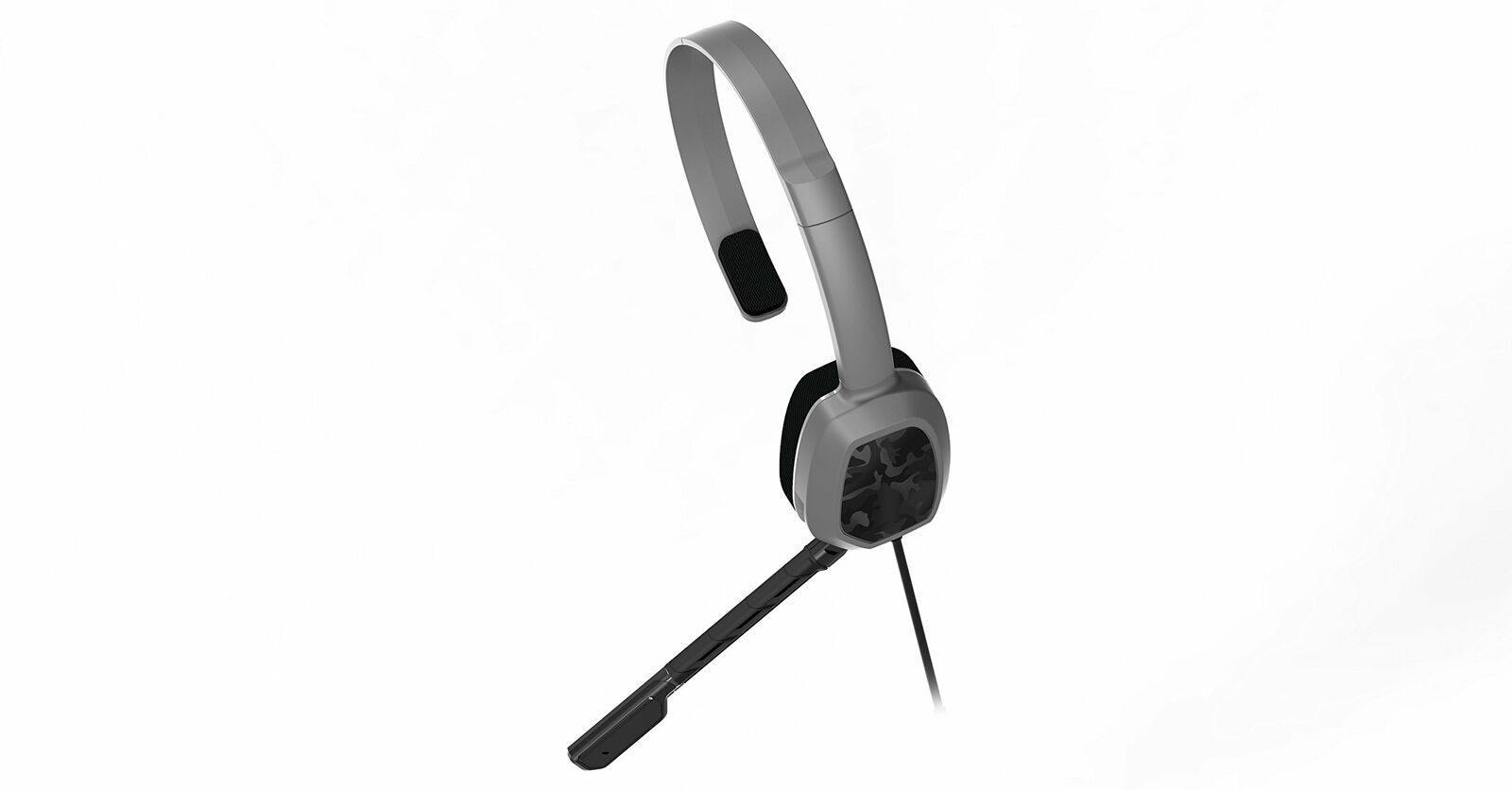 PDP Xbox One LVL 1 Chat Gaming Headset Grey Camo