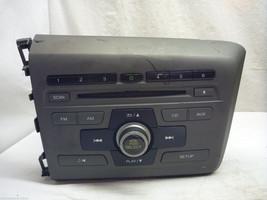 2012 12 Honda Civic Radio Cd Player  39100-TR0-A315 2BC6 CE3349 - $20.79