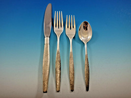 Florentine by Kirk Sterling Silver Flatware Set for 8 Service 38 pieces Matte - $2,295.00