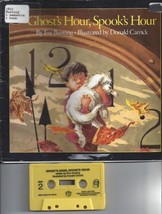 Ghost's Hour, Spook's Hour  Book & Cassette [Aug 23, 1999] Bunting, Eve ... - $20.00