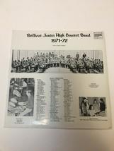 Bellevue Ohio Junior High School 1971-72 Concert Band Record Custom Fide... - £10.87 GBP