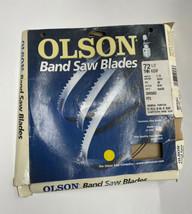"OLSON SAW BLADE 72-1/2"" X 1/4"" FLEXBACK GENERAL PURPOSE 6TPI #2055952 (L... - $15.99"