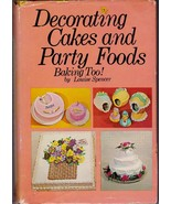 Decorating Cakes And Party Foods Baking 1969 Spencer In Home Pro Baker - $23.63