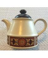 RARE Vintage 1970's Sadler England Stoneware Teapot w/ 70's Border Mission - $41.11