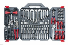 170 Piece Mechanics Mixed Hand Tools Set Box with Carry Case Home Repair... - $169.99