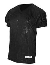 ADAMS USA Dazzle Varsity Practice Football Jersey, Black, Large - $28.05