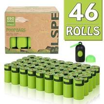 Poop Bags, 46 Rolls/690 Counts Dog Waste Bags Eco-Friendly Pet Poop Bags... - $21.17