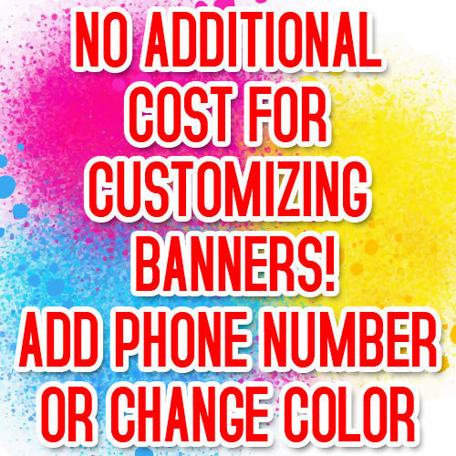NOW RENTING Advertising Vinyl Banner Flag Sign Many Sizes USA