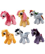 Little Pony Handmade Amigurumi Stuffed Toy Knit Crochet Doll VAC - £28.11 GBP