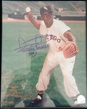 Minnie Minoso Signed Autographed Glossy 8x10 Photo (MLB Authenticated) - Chicago - $29.69