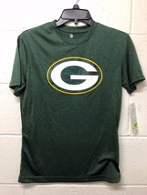 NWT Kids NFL Green Bay Packers YOUTH Short-Sleeve T-Shirt  Dry COOL  Fit... - $9.99