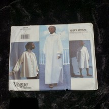 Vintage Vogue 1544 Issey Miyake Dress Blouse Tunic Womans Size 10 UNCUT  - $78.52