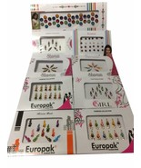 Indian Bindi Collection Forehead Sticker Tikka Tattoo Assorted Multicolor - $4.99+