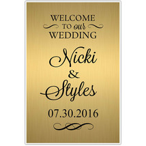 Custom Personazlied Welcome to our Wedding Seating Sign - $19.31+