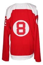 Custom Name # Philadelphia Ramblers Retro Hockey Jersey New Red Any Size image 4