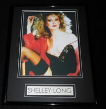 Shelley Long Lingerie Stockings Framed 11x14 Photo Display - $32.36