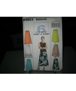 Butterick B4803 Misses Variety of Skirts Pattern - Size 16-22 - $8.90