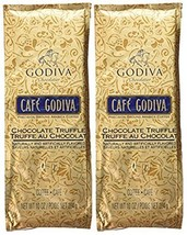 Café Godiva Chocolate Truffle Ground Coffee Two 10 oz. bags - $45.08