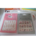 FLORAL NAIL ART 2 PACKS   #13 - $9.90