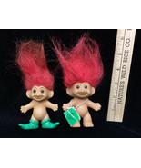 "Troll Mini Dolls Russ 1 Red Hair 3"" Christmas Doll 1 Russ 3"" Troll MLB R... - $11.87"