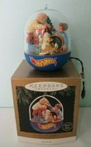 My First Hot Wheels Light and Motion Hallmark Magic Ornament 1995 Gently... - $30.00