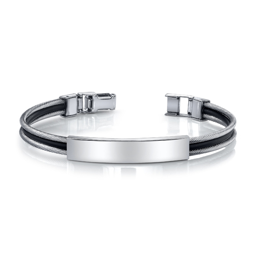 Surgical Stainless Steel Youth/Adult Identification Bracelet