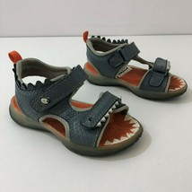 CARTERS Sandals FUNNY-CR Boy's Light-Up Sandals Boys Size 7 -READ LISTING - $13.46