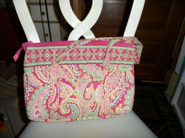 Vera Bradley large Betsy handbag in retired Capri Melon pattern   - £23.03 GBP