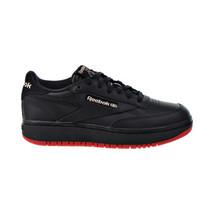 Reebok Cardi B Coated Club C Double Women's Shoes Core Black-Vector Red ... - $80.10