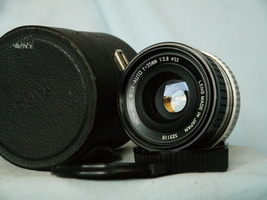 Contax Yashica Fit Hoya 35mm 2.8 Prime Wide Angle Lens Cased -NICE- - $25.00