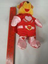 "Disney Store POOH Super Lover Love Valentine Plush Stuffed Bear 8"" image 7"