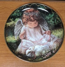 Bradford Exchange Collector's Plate An Angel's Kindness Donna Brooks Num... - $11.83