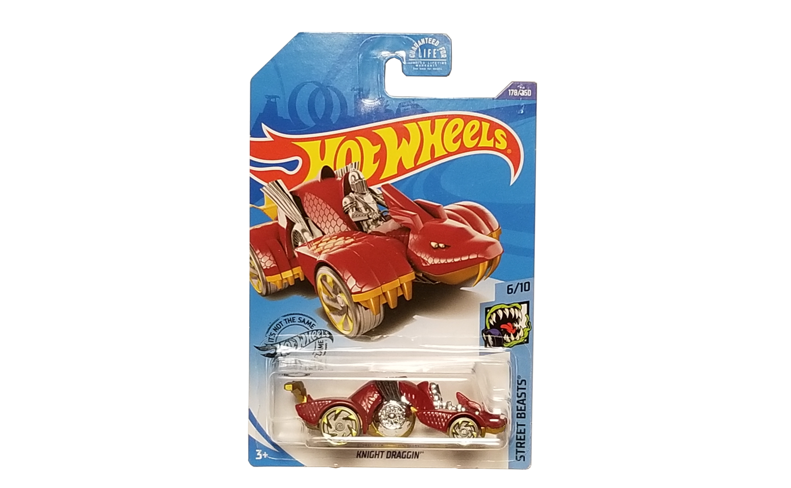 Hot wheels knight draggin ghd38 d9c0k 2017