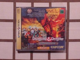 CAPCOM  SEGA SATURN Dungeons&Dragons Collection game software computer g... - $340.00