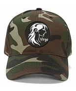 Virgo Sign Hat - Style Color Options - Astrology Zodiac (Camo) - $17.05