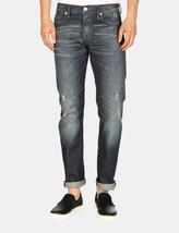 ARMANI EXCHANGE Authentic Ultra Distressed Medium Straight Fit Jean Indi... - $72.47