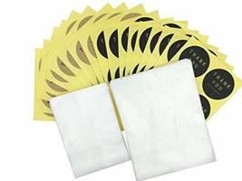 200Pcs White Dots Cellophane Bakery Cookie Candy Bags with 200 Thank You Sticker image 2