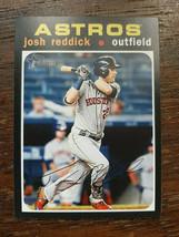 x1 2020 Topps Heritage Base #18 Josh Reddick Houston Astros Baseball Car... - $1.99