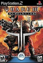 Quake III 3 Revolution (Sony PlayStation 2, 2001) PS2 COMPLETE - $8.81