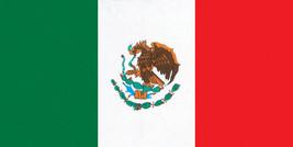 Mexico Flag Mexican Pride Beach Pool Bath Beach Souvenir Towel 30x60 - $15.79