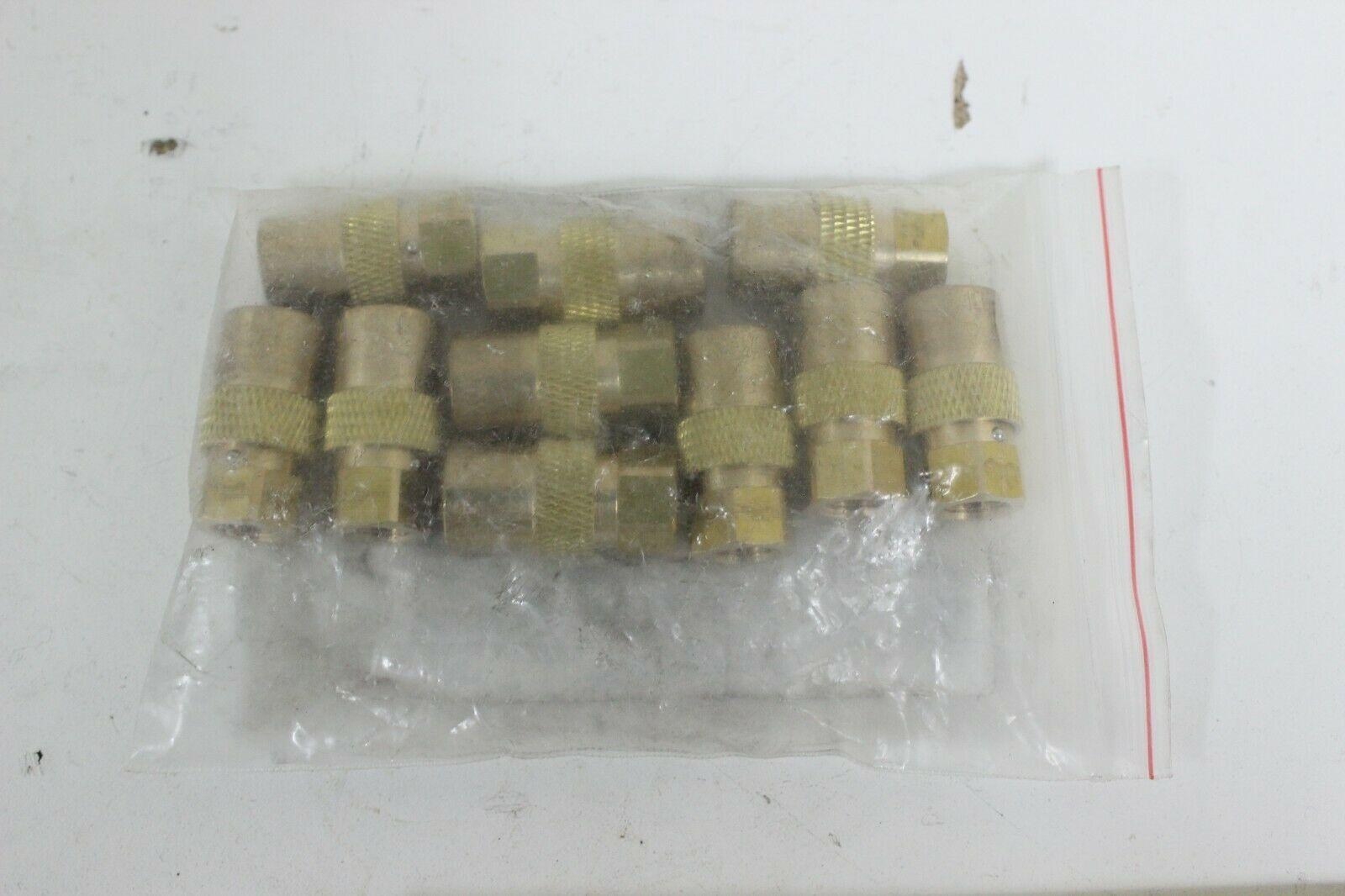 Dixon 2CMF1-B-E-LS CM Mold Unvalved Female Coupler  1 Bag of 10 Couplers