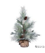 """Vickerman 24"""" Frosted Ansell Pine Tree - Unlit - $50.25"""